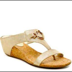 Impo Gwyneth cork wedge sandals